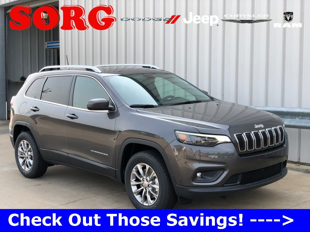 New Gray Gray 2019 JEEP Cherokee Latitude Plus Sport Utility 1C4PJMLB3KD252496 K5056 2.4L I4 9-Speed 948TE Automatic SUVs AWD