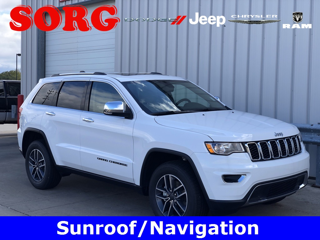 New 2019 JEEP Grand Cherokee Limited