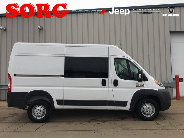 1500 Cargo Van High Roof 136 Wb New 2018 Ram Promaster Base
